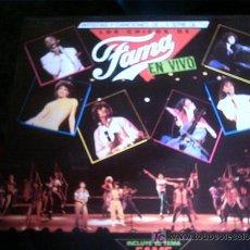 Discos de vinilo: LOS CHICOS DE FAMA - EN VIVO. Lote 19184476