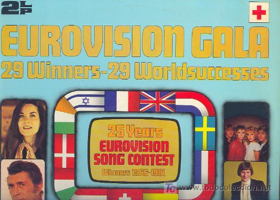 EUROVISION GALA LP 2 CARPETA DOBLE CON FOTOS. 29 WINNERS 1956-1981 SPA 1981 2675 221 VER FOTO (Música - Discos - LP Vinilo - Festival de Eurovisión)