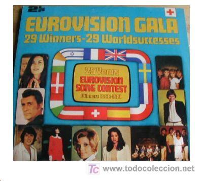 Discos de vinilo: EUROVISION GALA LP 2 CARPETA DOBLE CON FOTOS. 29 WINNERS 1956-1981 SPA 1981 2675 221 VER FOTO - Foto 4 - 7638339