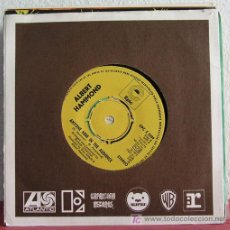 Discos de vinilo: ALBERT HAMMOND (IT NEVER RAINS IN SOUTHERN CALIFORNIA - ANYONE HERE IN THE AUDIENCE) 1972 SINGLE45 . Lote 7668886