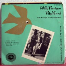 Discos de vinilo: WILLY BESTGEN BIG BAND (RIDING ALONG - LONESOME TRUMPET - DON'T SAY GOOD BYE - FAIR LADY) EP45. Lote 7668904