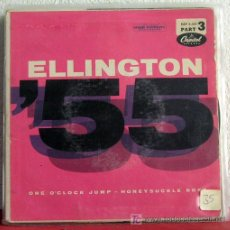 Discos de vinilo: DUKE ELLINGTON (ONE O'CLOCK JUMP - HONEYSUCKLE ROSE) GERMANY SINGLE45 CAPITOL. Lote 7678113