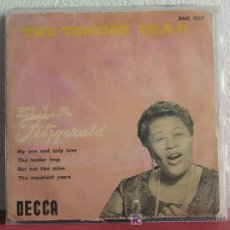Discos de vinilo: ELLA FITZGERALD ( THE TENDER TRAP ) SWEDEN 1956 EP45 DECCA. Lote 7685607