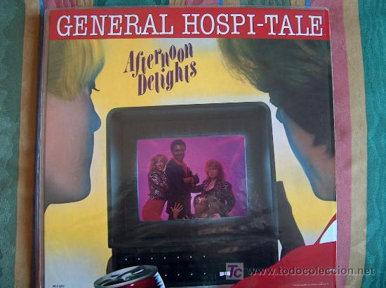 LP - AFTERNOON DELIGHTS - GENERAL HOSPI-TALE - ORIGINAL AMERICANO, MCA RECORDS 1981 (Música - Discos - LP Vinilo - Funk, Soul y Black Music)