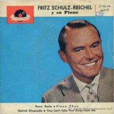 Discos de vinilo: FRITZ SCHULZ-REICHEL / PIANO DERBY / PIANO CHOO / ELEKTRIK RHAPSODIE / THEY CAN'T TAKE THAT AWAY FRO. Lote 7712499