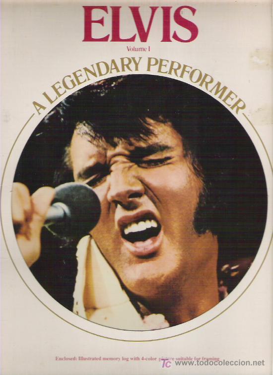 ELVIS - A LEGENDARY PERFORMER VOL 1 *** RCA 1973 + PEQUEÑO LIBRETO (Música - Discos - LP Vinilo - Pop - Rock - Internacional de los 70)