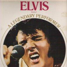Discos de vinilo: ELVIS - A LEGENDARY PERFORMER VOL 1 *** RCA 1973 + PEQUEÑO LIBRETO. Lote 11550550