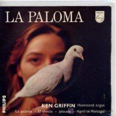Discos de vinilo: KEN GRIFFIN / LA PALOMA / EL CHOCLO / JALOUISE / APRIN IN PORTUGAL (EP HOLANDES). Lote 19497598