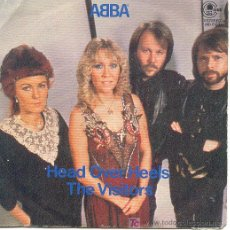 Discos de vinilo: ABBA SINGLE HEAD OVER HEELS MO 2120 CARNABY SPA. Lote 7759315