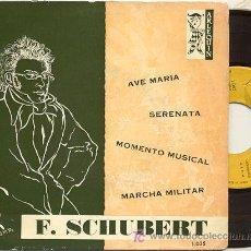 Discos de vinilo: EP 45 RPM / FRANKZ SCHUBERT / AVE MARIA /// EDITADO POR ARLEQUIN . Lote 14542323