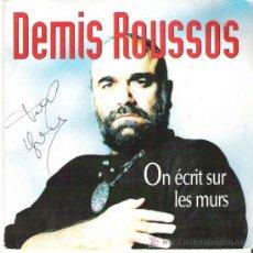 Discos de vinilo: DEMIS ROUSSOS - ON ECRIT SUR LES MURS / TIME. Lote 7771260