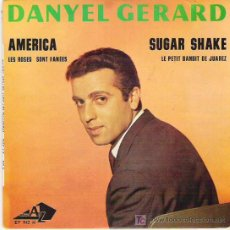 Discos de vinilo: DANYEL GERARD - SUGAR SAKE + 3 EP **** 1963 DISC AZ. Lote 11805295