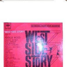 Discos de vinilo: WEST SIDE STORY EP BANDA SONORA ORIGINAL BERNSTEIN CBS SPA 1960. Lote 7784252