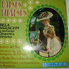 Discos de vinilo: VALSES VIENESES. Lote 7807033