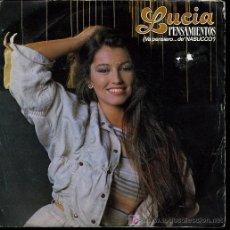 Discos de vinilo: LUCÍA - PENSAMIENTOS (VA PENSIERO... DE NABUCCO / ME DA IGUAL - 1984. Lote 7808529