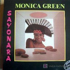 Discos de vinilo: MAXI - MONICA GREEN - SAYONARA(VERS. ESPAÑOLA) / SAYONARA(VERS. INGLESA). Lote 7820018