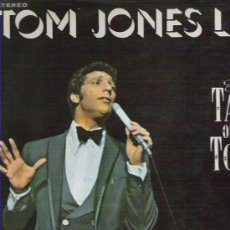 Discos de vinilo: TOM JONES LIVE ! AT THE TALK OF THE TOWN *** 14 TEMAZOS *** DECCA 1967. Lote 11741407
