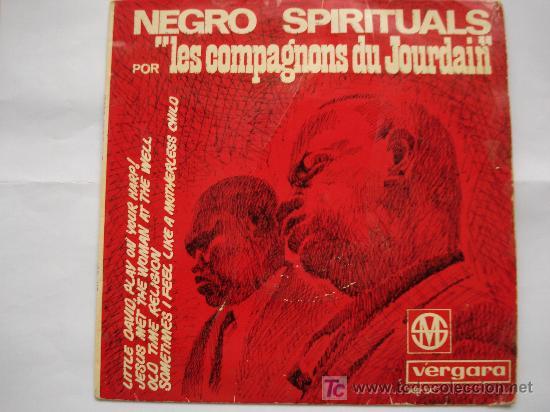 NEGRO SPIRITUALS (Música - Discos de Vinilo - EPs - Funk, Soul y Black Music)
