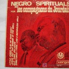 Discos de vinilo: NEGRO SPIRITUALS. Lote 7838742