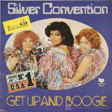 Discos de vinilo: SILVER CONVENTION. GET UP AND BOOGIE. Lote 18941183