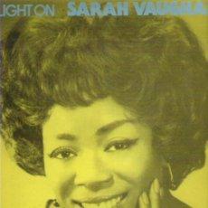 Discos de vinilo: SARAH VAUGHAN - SPOTLIGHT **** 2 LP *** EN ZAFIRO 1985. Lote 14720135
