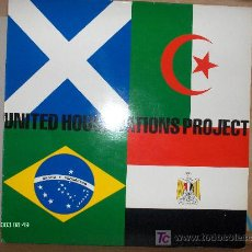 Disques de vinyle: UNITED HOUSE NATIONS PROJECT . Lote 20447038