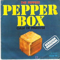 Discos de vinilo: THE PEPPERS - PEPPER BOX / PINCCH OF SALT *** MOVIEPLAY 1973. Lote 7886191