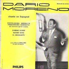 Discos de vinilo: DARIO MORENO - CANTA EN ESPAÑOL *** PEQUEÑISIMA SERENATA + 3 EP *** 1958 PHILIPS. Lote 11723583