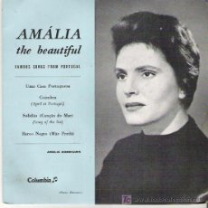 Discos de vinilo: AMALIA THE BEAUTIFUL - COIMBRA + 3 EP ** COLUMBIA. Lote 13761336