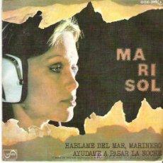 Discos de vinilo: MARISOL - HABLAME DEL MAR MARINERO / AYUDAME A PASAR LA NOCHE *** EN ZAFIRO 1976. Lote 7900665
