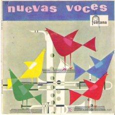 Discos de vinilo: NUEVAS VOCES -RICARDO YARQUE + LOS CINCO LATINOS *** FONTANA 1960 VINILO VERDE. Lote 11672425