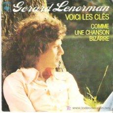 Discos de vinilo: GERARD LENORMAN - VOICI LES CLES *** 1976. Lote 7910235