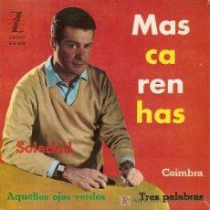 Discos de vinilo: MASCARHENAS EP SELLO ZAFIRO AÑO 1963. Lote 7911077
