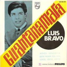 Discos de vinilo: LUIS BRAVO EP SELLO PHILIPS AÑO 1966. Lote 7911129