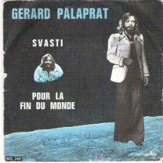 Discos de vinilo: GERARG PALAPRAT - SVASTI / POUR LA FIN DU MONDE ** DISQUES AZ. Lote 7914214