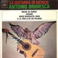 Discos de vinilo: ANTONIO BRIBIESCA EP SELLO CBS AÑO 1963. Lote 7920830