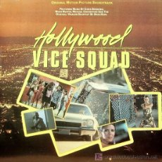 Discos de vinilo: BSO HOLLYWOOD VICE SQUAD (CHRIS SPEDDING + MOON MARTIN) LP VINILO 1986. Lote 7927770