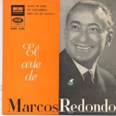 Discos de vinilo: MARCOS REDONDO,ALMA DE DIOS. Lote 7928441
