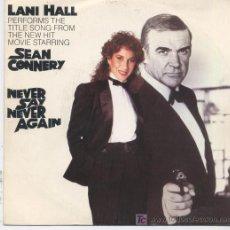 Discos de vinilo: LANI HALL,NEVER SAY NEVER AGAIN,DEL 83,PROMO. Lote 7928879