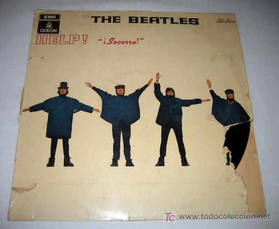 ANTIGUO DISCO DE VINILO - THE BEATLES - HELP - EMI ODEON - MOCL 136 1J060-04.257M - 1965 - TAL Y COM (Música - Discos - LP Vinilo - Pop - Rock Internacional de los 50 y 60)