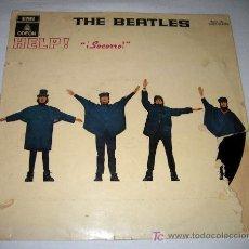 Discos de vinilo: ANTIGUO DISCO DE VINILO - THE BEATLES - HELP - EMI ODEON - MOCL 136 1J060-04.257M - 1965 - TAL Y COM. Lote 13372851