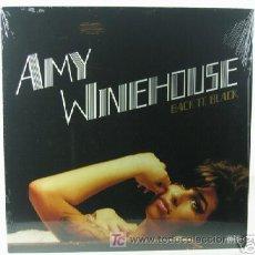 Discos de vinilo: LP AMY WINEHOUSE BACK TO BLACK VINYL VINILO SOUL JAZZ EDICION AMERICANA. Lote 42385318