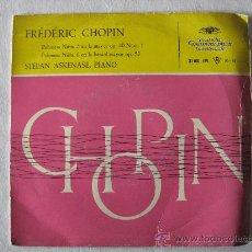 Discos de vinilo: CHOPIN- POLONESA Nº 3 POLONESA Nº 6, STEFAN ASKENASE PIANO.DEUTSCHE GRAMMOPHON. Lote 23128650