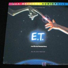 Discos de vinilo: E.T. EL EXTRATERRESTRE-LP VINILO BANDA SONORA-JOHN WILLIAMS-STEVEN SPIELBERG-ORIGINAL USA. Lote 9744224