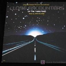 Discos de vinilo: ENCUENTROS EN LA TERCERA FASE-LP VINILO BANDA SONORA ORIGINAL-JOHN WILLIAMS-STEVEN SPIELBERG-USA. Lote 9744227