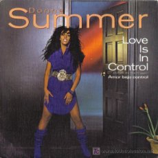 Discos de vinilo: DONNA SUMMER - LOVE IS IN CONTROL. Lote 24037592