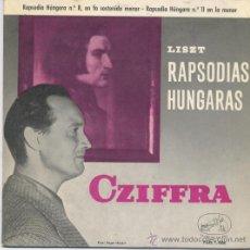 Discos de vinilo: CZIFFRA,PIANO. Lote 8011075