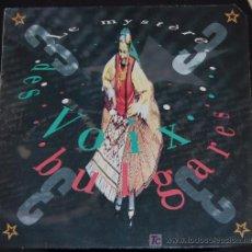 Discos de vinilo: LP DES VOIX BULGARES. LE MYSTÈRE. Lote 16822326
