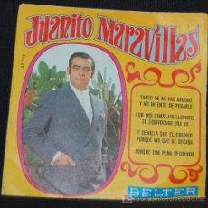 Discos de vinilo: SINGLE JUANITO MARAVILLAS. TANTO DE MI HAS ABUSAO. Lote 8049282