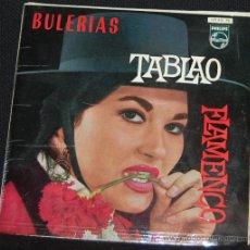 Discos de vinilo: SINGLE LA PAQUERA POR BULERIAS. TABLAO FLAMENCO. Lote 8049601